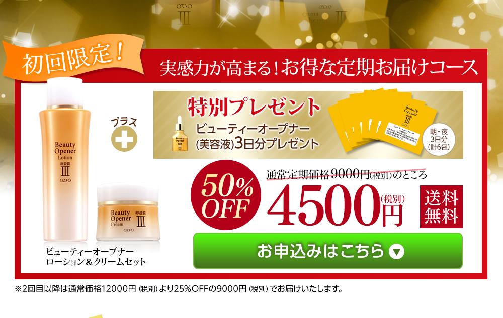 4500円(税別)